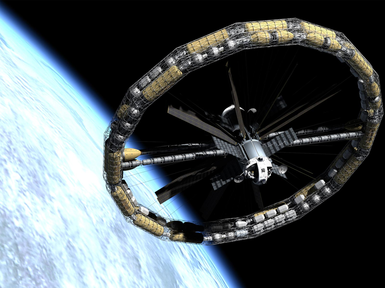 spacecraft in space - photo #26