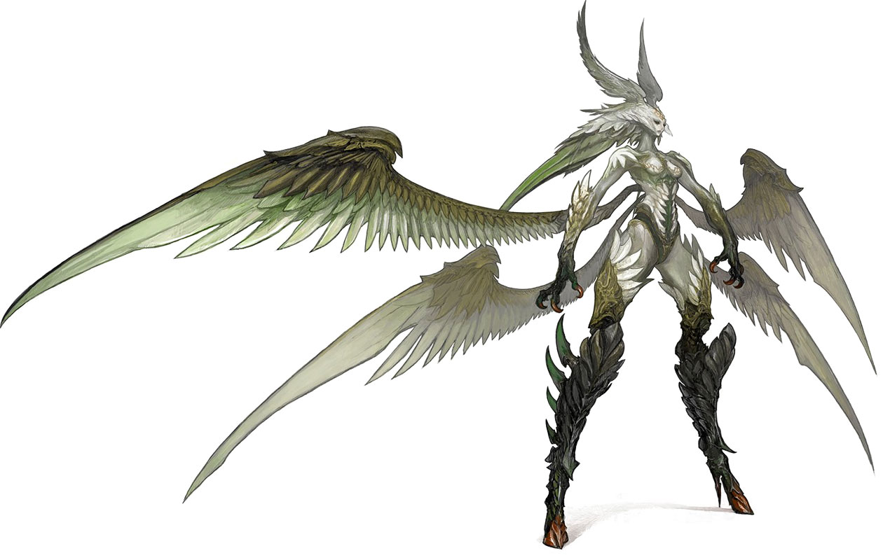 Garuda (Summon) - The Final Fantasy Wiki - 10 years of having more ...