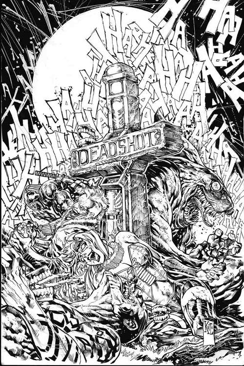 Image suicide squad vol 4 14 solicit dc for Suicide squad coloring pages