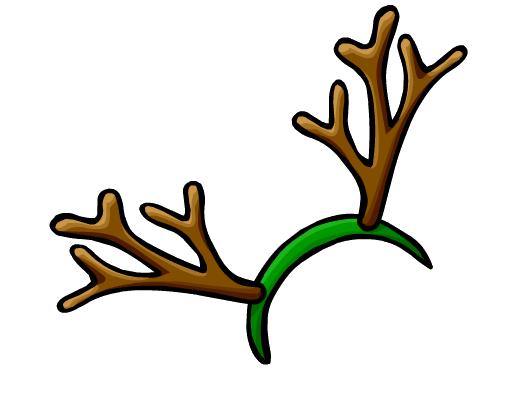 Reindeer Antlers Hat Png Image - reindeer antlers