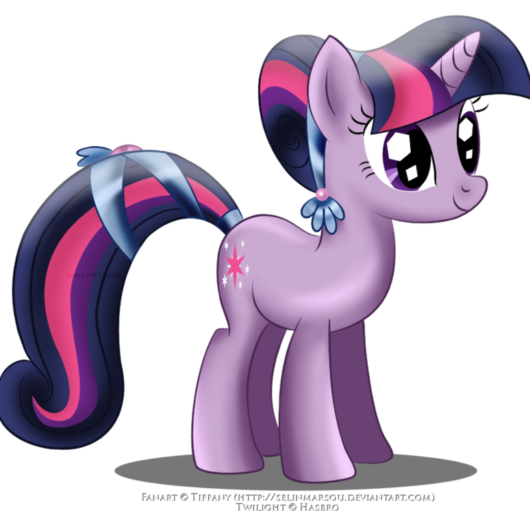 Twilight Sparkle Coloring Page #3