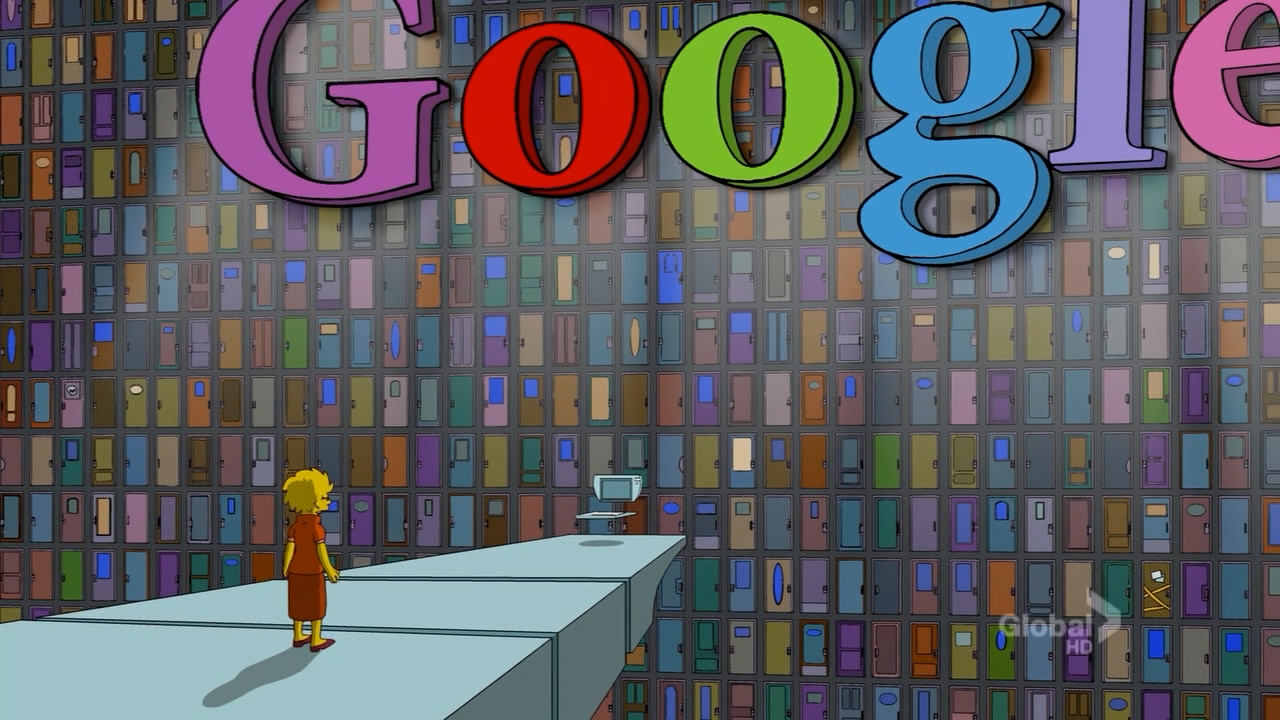Google building simpsons wiki for Google house builder