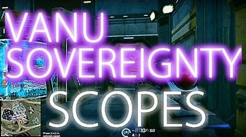 Vanu Sovereignty Scopes (all) - Planetside 2 Guide Commentary (beta)