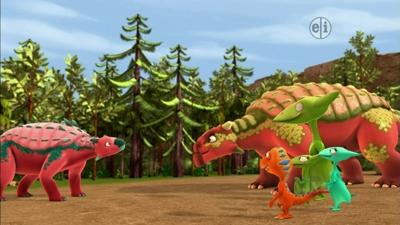 dinosaur train ankylosaurus - photo #29