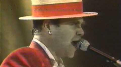 Elton John - Saturday Night's (Alright for Fighting) - Wembley 1984 (HQ Audio)-0