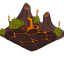 Small Volcano Home