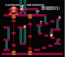 Levels in Donkey Kong