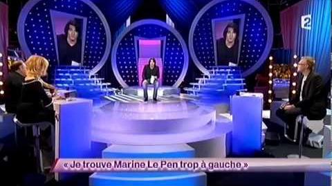 Je trouve Marine Le Pen trop à gauche