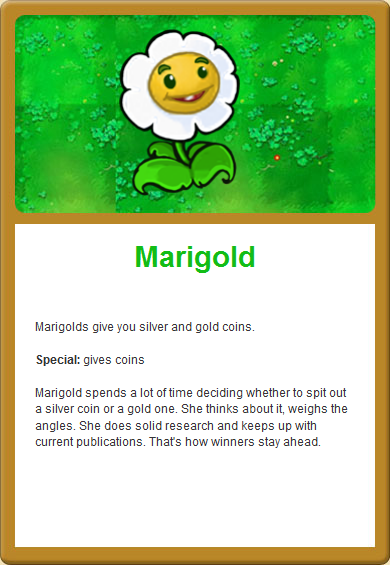 Image - Marigold Online.png - Plants vs. Zombies Wiki, the ...