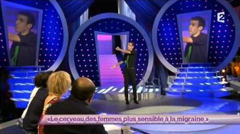 Maxime Déchelle 1 - Le cerveau des femmes plus sensibles à la migraine - ONDAR - 2012