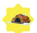 Brown Winter Tent