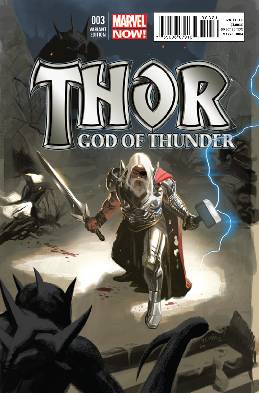 Thor: God of Thunder Vol 1 3 - Marvel Comics Database  Thor
