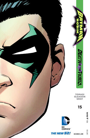 Cover for Batman and Robin #15 (2013)