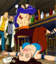 Bacchus defeats Cana in a drinking contest.png