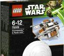 75009 Snowspeeder and Planet Hoth