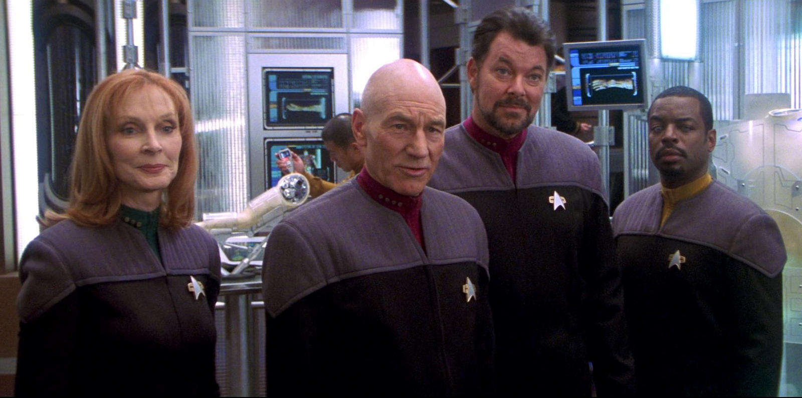 Star Trek Nemesis Uniforms still image  sc 1 st  Reddit & Why are we unable to recreate high quality Star Trek uniforms ...