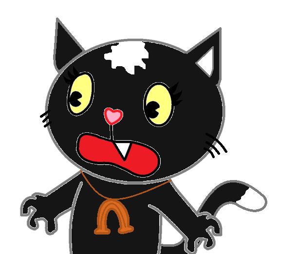 HTF - Petunia...the Cat? by Bunny-Kirby on DeviantArt |Happy Tree Friends Cat