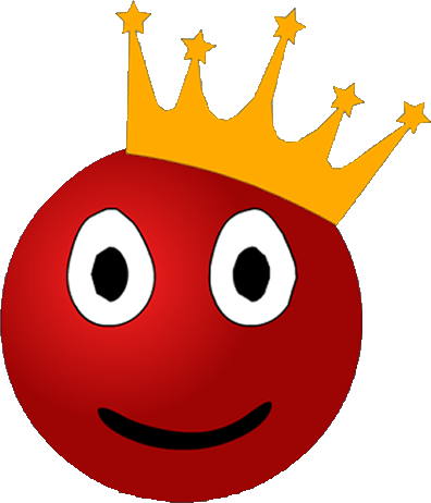 king com red ball