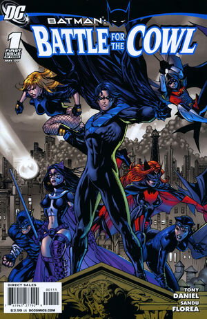 Cover for Batman: Battle for the Cowl #1 (2009)