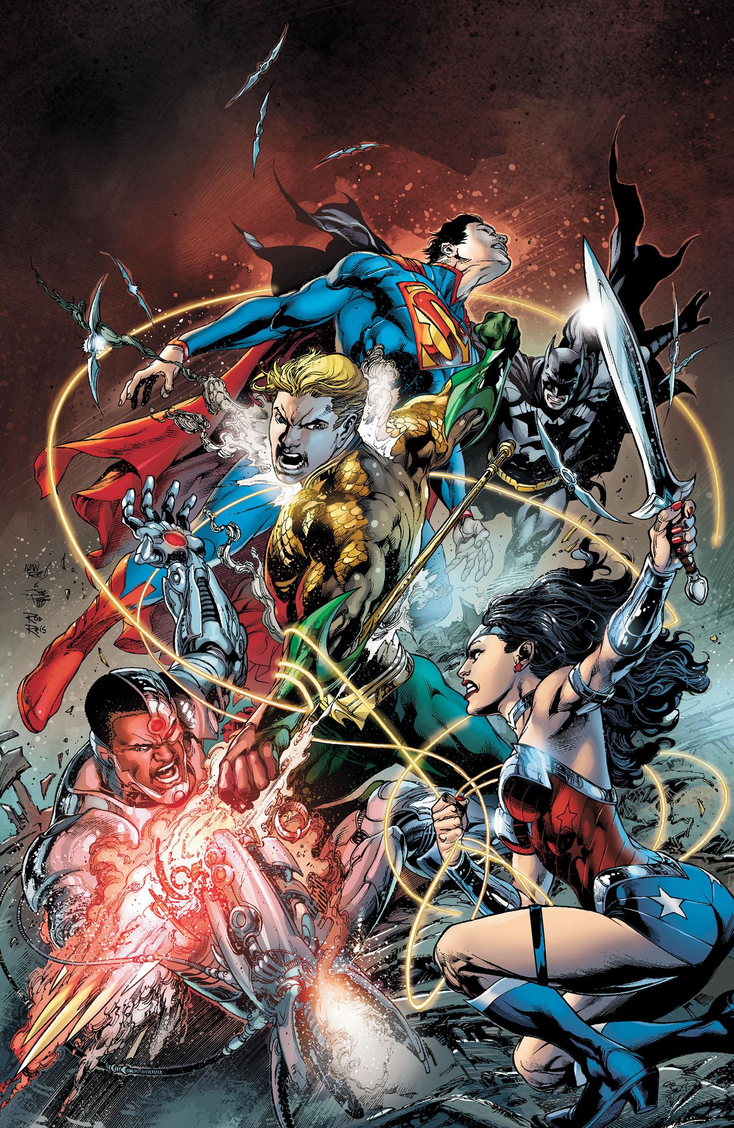 Dc Comics Justice League : Justice league vol dc comics database