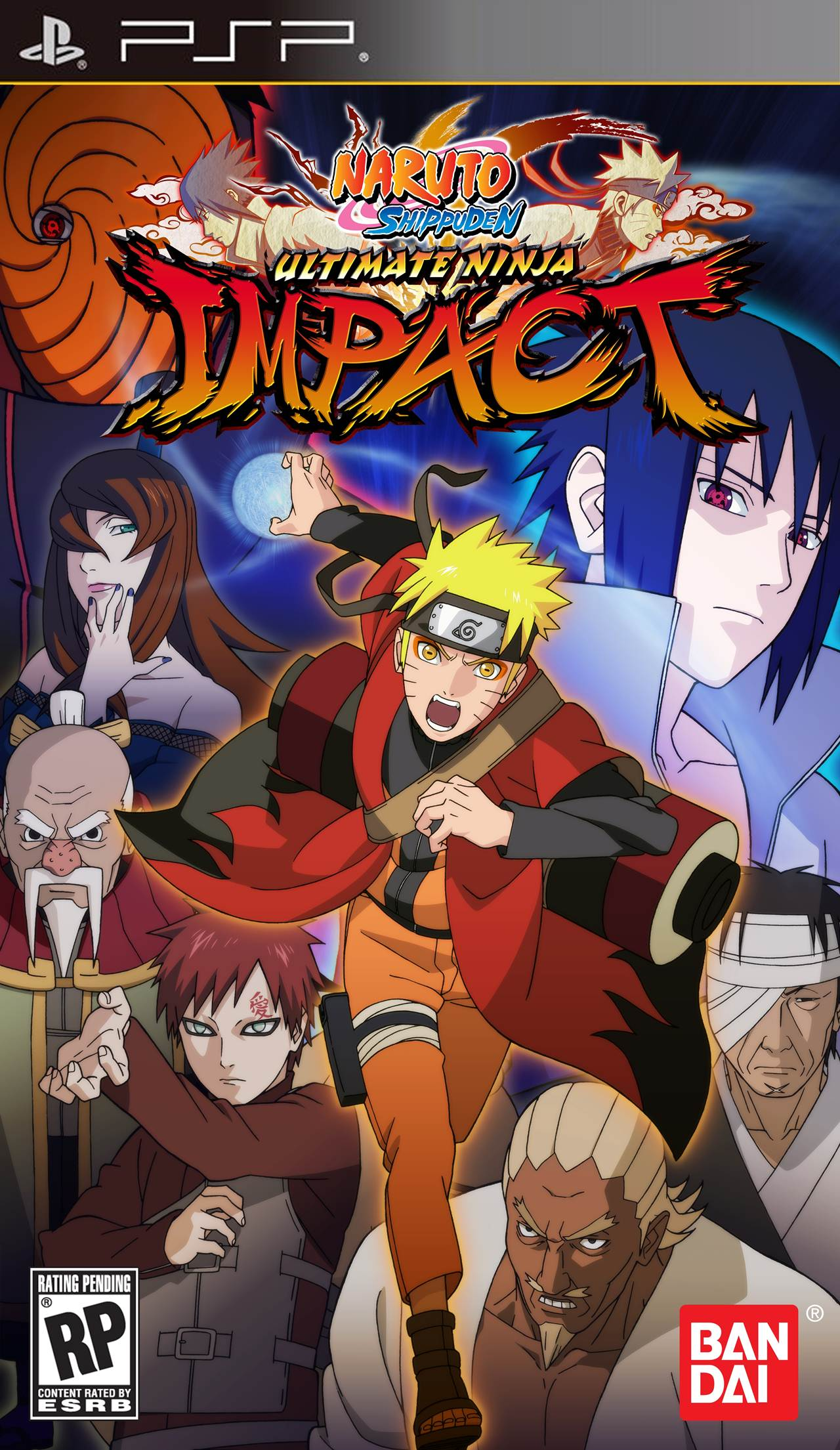 Download Game PSP Naruto Shippuden Ultimate Ninja Impact High Compress