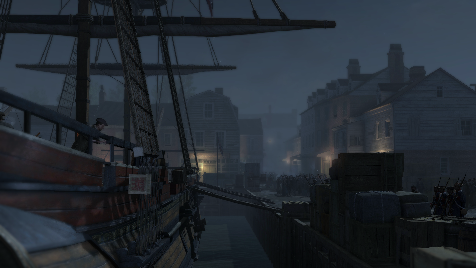 boston tea party the assassin 39 s creed wiki assassin 39 s creed assassin 39 s creed ii assassin 39 s. Black Bedroom Furniture Sets. Home Design Ideas