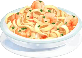 Recipe-Shrimp Alfredo Pasta