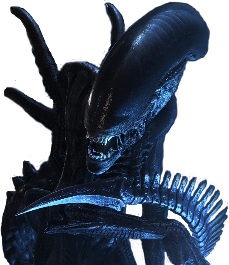 Xenomorph - Alien - por Colmillos Xenomorph_No_Background
