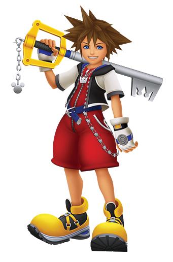 Characters kingdom hearts Sora_KHHD