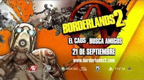Borderlands 2 - Jack el guapo, Tráiler en Español Gamescom 2012 - PC PS3 Xbox 360