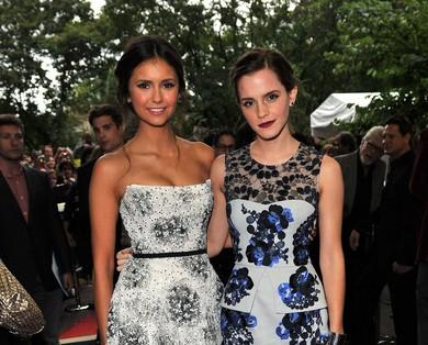Image - Nina-dobrev-emma-watson.jpg - Degrassi Wiki - Wikia Emma Watson Wikipedia