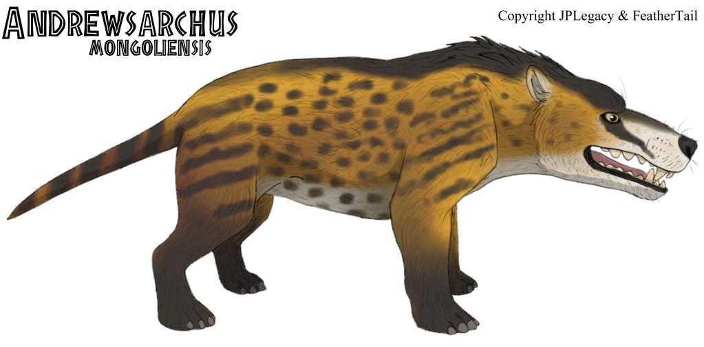 Andrewsarchus mongoliensis - JPL Live the Legend Wiki