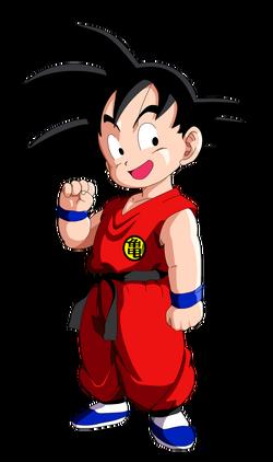 Ilustración de Goku