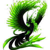 If I were a dragon ... I would look like this .. 200px-Radioactive_PhoenixPB