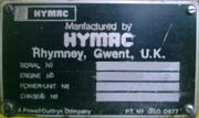 HY-MAC PD ID BADGE.