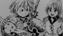 Meliodas with young Gilthunder.png