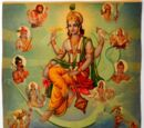 10 Avatars of Vishnu (Dasavatara)