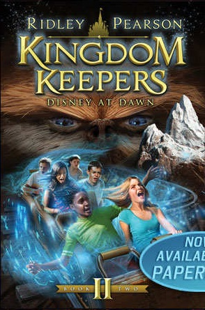 Kingdom Keepers II Disney At Dawn Alternate CoverKingdom Keepers Books