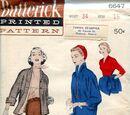 Butterick 6647 A