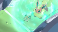 The Pokémon Alma 200px-EP764_Eevee_usando_protecci%C3%B3n