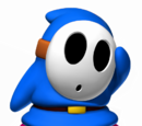 Blauer Shy Guy