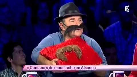 Concours de moustache en Alsace
