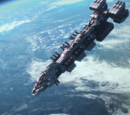 Ships in Starship Troopers: Invasion