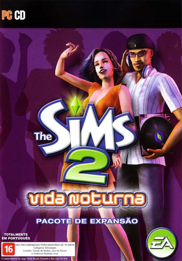 the sims vida noturna  pc