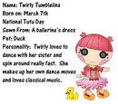 Twirly Tumbelina