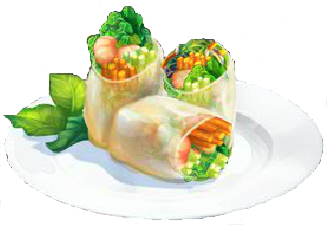 Recipe-Springtime Spring Roll