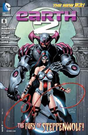 Cover for Earth 2 #8 (2013)