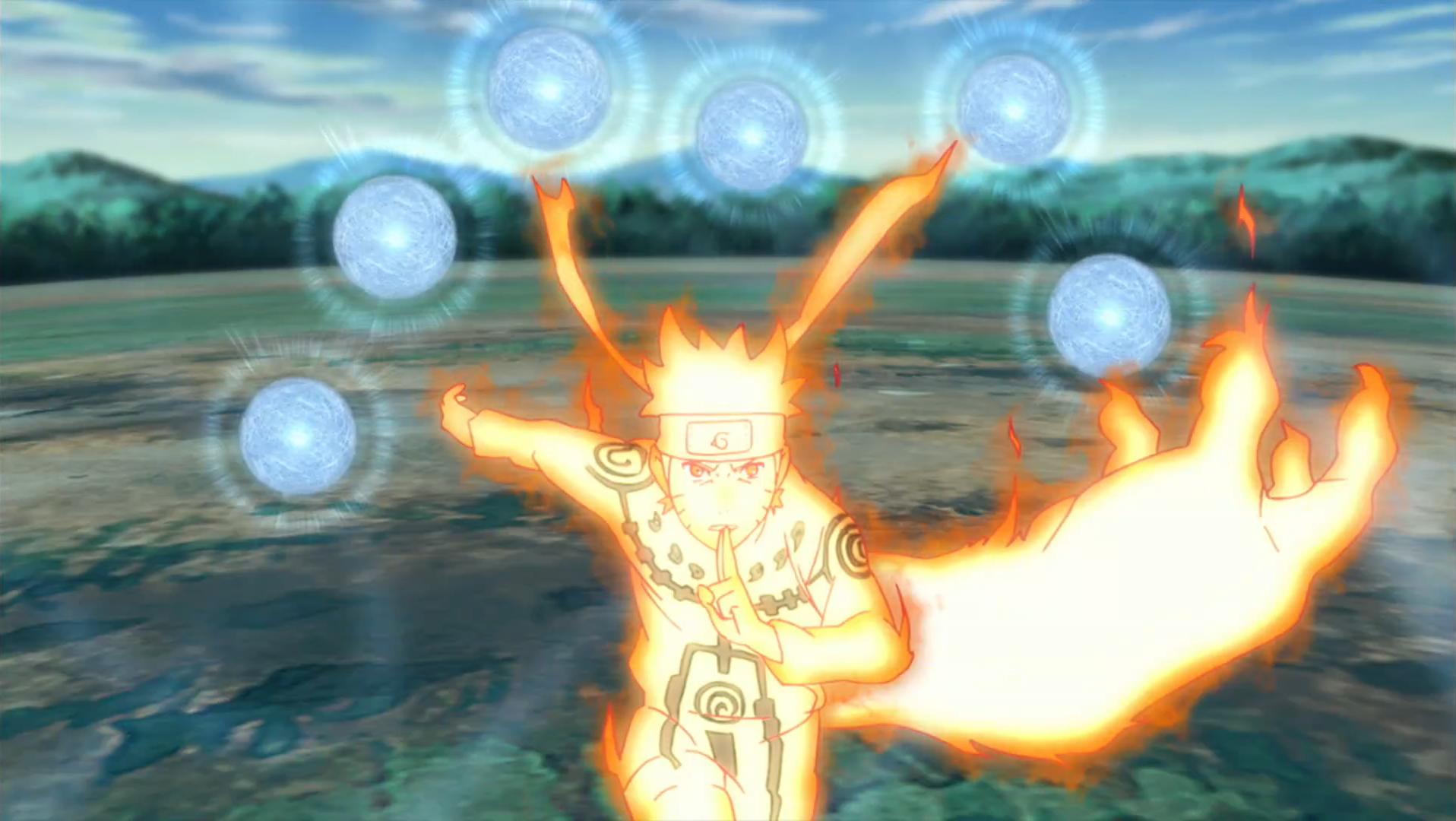 Naruto Uzumaki: Abilities