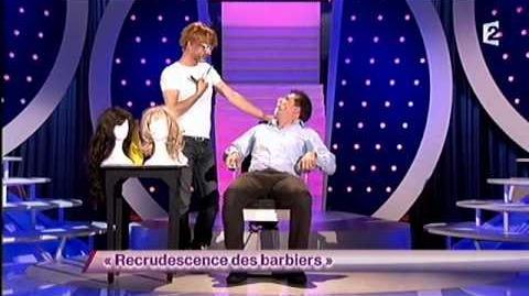 Recrudescence des barbiers