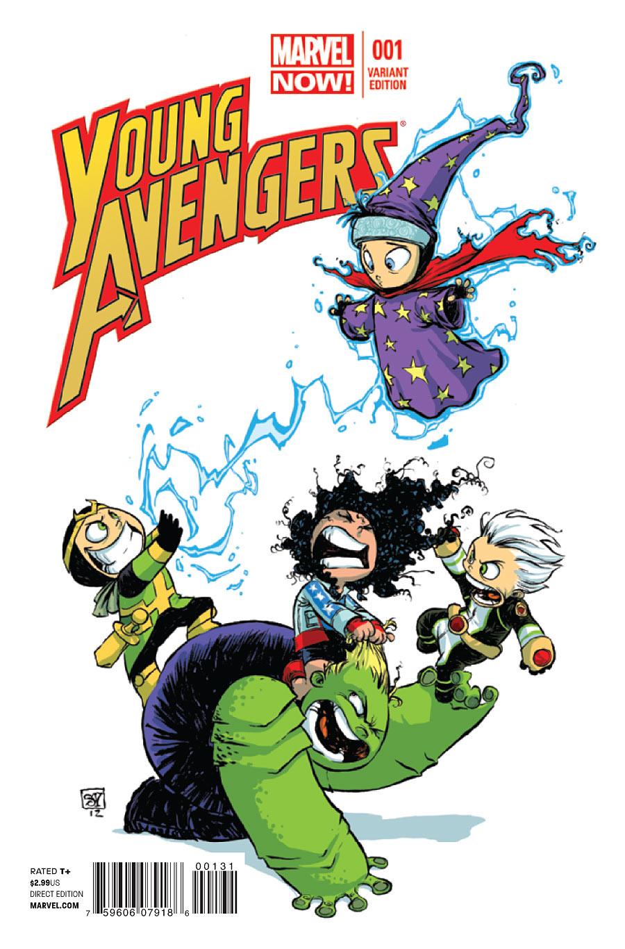 Young Avengers Vol 2 1 - Marvel Comics Database